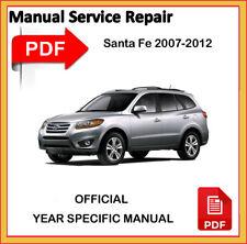 Hyundai Santa Fe 2007 08 09 10 2011 2012 Factory Service Repair Workshop Manual