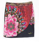 DESIGUAL jupe femme FAL YEILA 61F27D3 coloris 2000 noir TAILLE 36