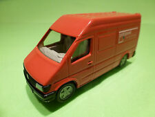 SIKU MERCEDES BENZ SPRINTER  - PTT POST RED 1:55? - EXCELLENT CONDITION