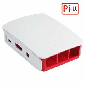 Raspberry Pi 2 & 3,  Model B, B+ Red/White  Enclosure Case Cover UK