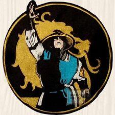 Mortal Kombat Raiden Thunder God Lord Embroidered Big Patch MK9 Sub-zero PS