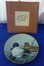 WS George 1990 The Lesser Scaup Federal Duck Stamp Fine China Plate #1