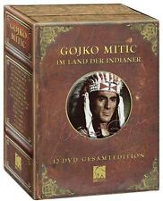 Gesamtbox GOJKO MITIC Defa Indianer CHINGACHGOOK Tecumseh SCOUT 12 DVD Edition