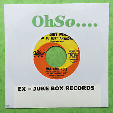 Nat King Cole - I Don't Want To Be Hurt Anymore / People - JUKEBOX READY - 5155