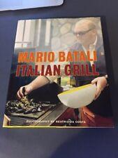 Italian Grill by Mario Batali Chef Food The Chew recipe book Brand New