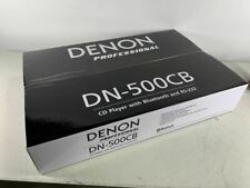 Denon Professional DN-500CB CD Player with Bluetooth, USB and Aux Inputs DN-500C