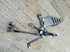 09-12 Kawasaki Ninja ZX6R Left Rearset Footpeg Assy Shift Shifter Pedal OEM