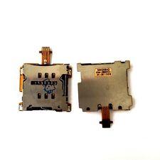 Per ori. HTC ONE MINI m4 scheda SIM SCHEDE CARD READER LETTORE SLOT Supporto Flex