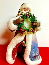 St. Nicholas With Wreath, 2003 Old World Thomas Kinkade, Hallmarked, Excellent!