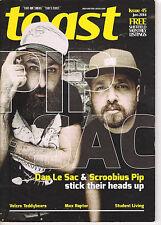 toast magazine Sheffield issue 45 jan 2014 dan le sac & scroobius pip