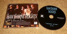 HAWTHORNE HEIGHTS Niki Fm PROMO Radio DJ CD single 2005 USA MINT