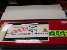 LGB 4070 BUDWEISSER REEFER NEW CONDITION G SCALE