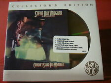 """STEVIE RAY VAUGHAN """" COULDN´T STAND THE WEATHER """" (SONY-24KARAT-GOLD-CD/SEALED)"""