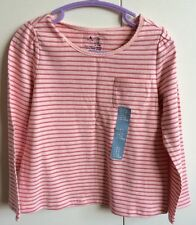 GAP Girls' Striped Long Sleeve Sleeve T-Shirts & Tops (2-16 Years)