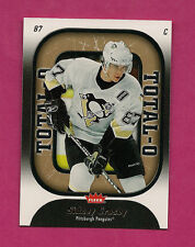 2006-07 FLEER # 020 PENGUINS SIDNEY CROSBY TOTAL-O  INSERT (INV#0529 )