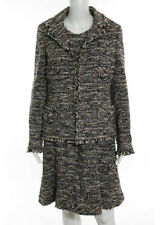 NWT CHANEL Multicolored Tweed Jacket Belted Sleeveless Suit Dress Sz EUR 40 07A