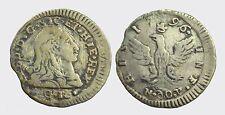 PALERMO - FERDINANDO III 1759-1816 -AG/ 1/2 TARI' 1796     RARA !