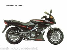 YAMAHA FJ1200 RESTORATION DECAL SET