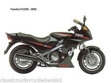 Yamaha FJ1200 restauración DECAL set