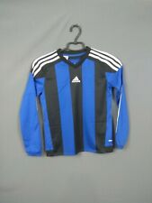 Adidas Jersey Youth 9-10 y Long Sleeve Shirt Adidas Football Soccer ST7192 ig93