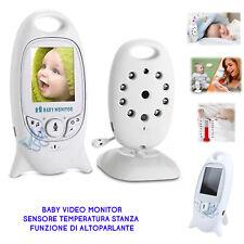 Baby Controllo Monitor Sorveglianza Wireless Audio Video Bambini Neonati