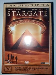 Stargate DVD 2 Disc Ultimate Edition excellent condition
