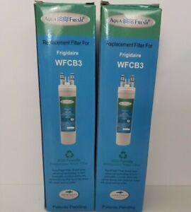 Aqua Fresh Refrigerator Replacement Filter for Frigidaire WFCB3 lot of 2 Filters