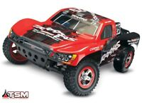Traxxas Slash 4x4 BRUSHLESS +TSM Short-Course-Truck ohne Akkus/Lader #68086-4
