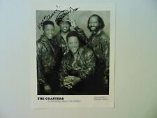 """""""The Coasters"""" Billy Richards Hand Signed 8X10 B&W Photo Todd Mueller COA"""