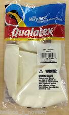 "Qualatex White 36"" Decorator Latex Balloon  2 Pack"