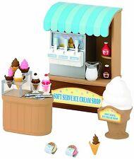 Sylvanian Families - Soft Serve Ice Cream Store Shop - Brand New