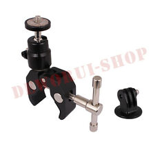 Newest Friction Clamp Unit+Tripod Mount for GoPro Hero HD Hero 2 3 3+ 4 1 Camera