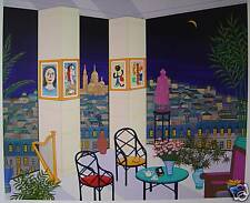 """Interior with Buddha""  by Fanch Ledan"