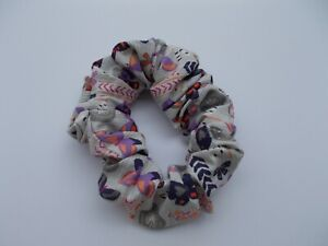Butterflies Large Cotton Scrunchie-Kayla