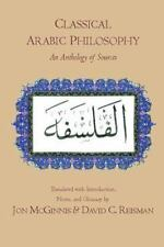 Classical Arabic Philosophy: An Anthology of Sources by