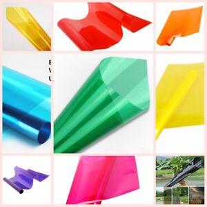 Multi-color Solar Film/ Tint/ Window/ Glass/ Privacy Decoration Window film 20''