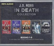 J D Robb In Death Series Books 01-05 Five Unabridged MP Audio Books