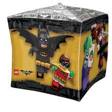 LEGO Batman Movie GOTHAM HEROES & nemici Children's Party Cube shape Foil Balloon