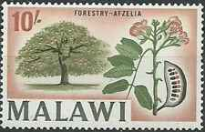 Timbre Flore Malawi 12 ** (30127)