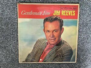 JIM REEVES Gentleman Jim 1963 UK vinyl LP,EXCELLENT CONDITION