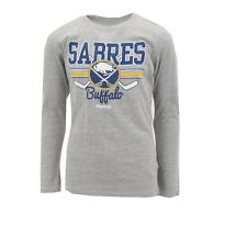 Buffalo SabresYouth Official Reebok NHL Long Sleeve T-shirt New Multiple Sizes