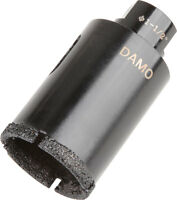 """6DAMO 1-1/2"""" Dry Diamond Core Drill Bit / Hole Saw for Granite/Concrete/Stones"""
