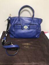 Beautiful $398 Kate Spade Hampton Road Janie Bag Shoulder Satchel Blue Purse Bag
