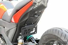2017+ Kawasaki Z125 Pro Stretched Low Profile Fender Eliminator Kit w/ LED Light