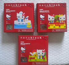 3 New Nanoblock HELLO KITTY Sets NBH_055 NBH_056 NBH_057 CRUISE ~ PARK~ MIMMY