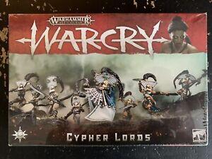 Warhammer AoS Warcry Cypher Lords NIB