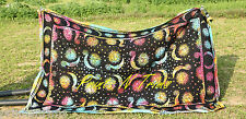 Tie -Dye Sun Moon Mandala Tapestry Hippie Wall Hanging Twin Bohemian Throw