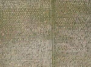 FALLER HO SCALE 1/87 COBBLESTONE SHEET SHEET (1)   BN   170601