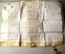 1658 VELLUM INDENTURE LONDON ALDERSGATE PROPERTY