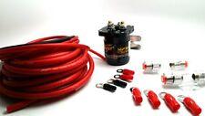 Stinger 2nd Battery Relay Isolator Power Wiring Kit Fuse Holder 200 Amp SGP32